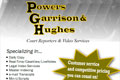 Advertisement in NCRA for Powers, Garrison & Hughes