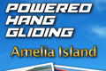 A flyer to promote Air Amelia's powered hand gliding