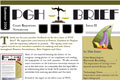 Second PDF Newsletter I designed for PGH