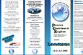 A brochure I created highlighting the videoconference service that PGH offered